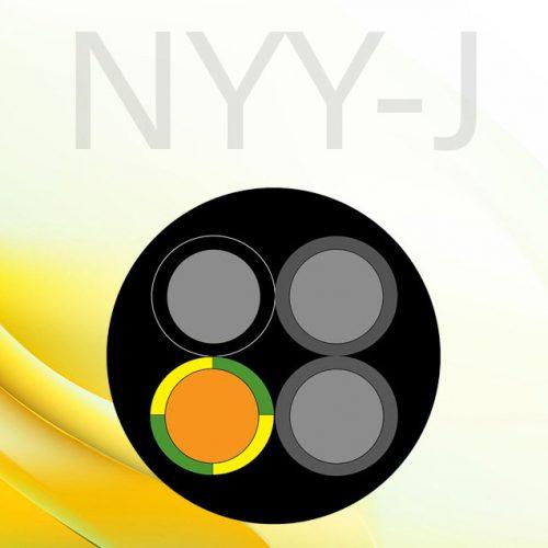 کابل nyy-j چیست
